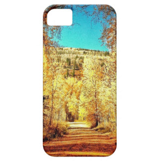 Hojas de otoño, temporada de otoño, árboles 01 iPhone 5 fundas
