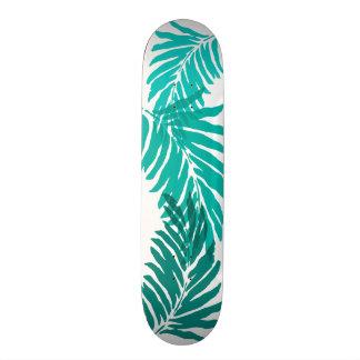 "Hojas de palma del Hawaiian del jardín de Kahanu Patineta 7 7/8"""