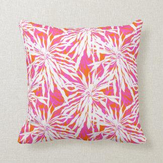 Hojas de palma tropicales almohadas