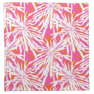 Hojas de palma tropicales servilletas de papel