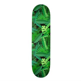 """Hojas de palmeras tropicales patineta 7 7/8"""""""