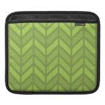 Hojas de té verdes manga de iPad