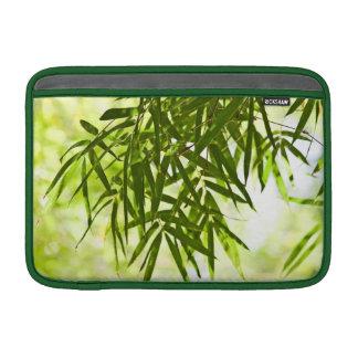 Hojas del bambú funda  MacBook
