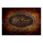 Hojas del certificado de la tarjeta de regalo del  tarjetas personales