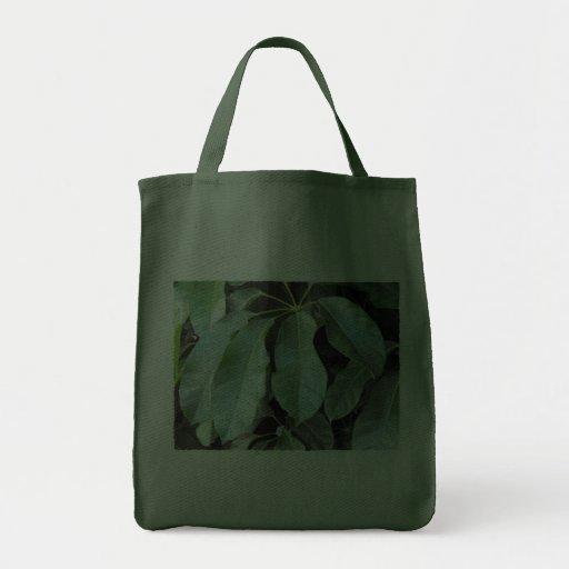 Hojas del jardín bolsa