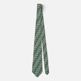 Hojas del jardín corbatas personalizadas