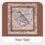 Hojas del mosaico del pájaro de Kos de pegatinas