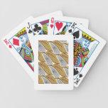 Hojas del oro cartas de juego