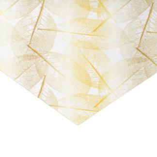 Hojas del oro - papel seda papel de seda pequeño