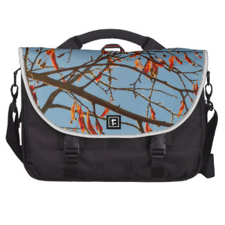 Hojas del otoño bolsas para portátil