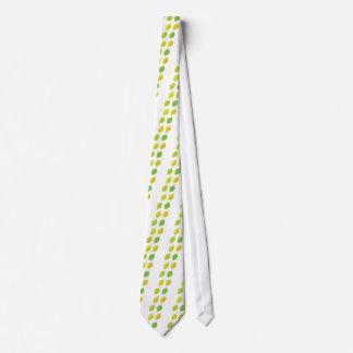 Hojas del verde corbata personalizada