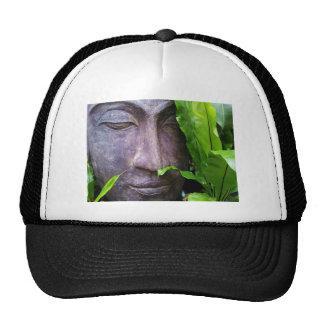 Hojas del verde del jardín de la serenidad de Buda Gorros
