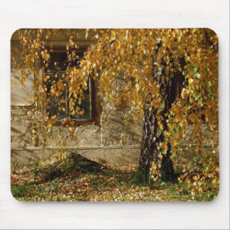 hojas del yelllow mouse pad