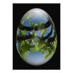 hojas felices de los jóvenes del huevo de Pascua Comunicado Personal
