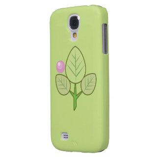 hojas frescas y caja encantadora de la galaxia S4  Funda Para Galaxy S4