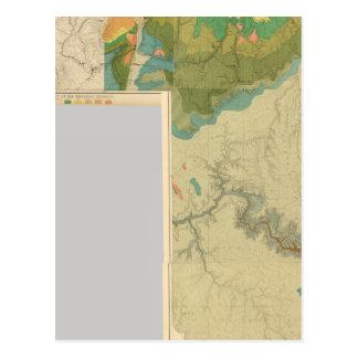 Hojas geológicas del mapa postal