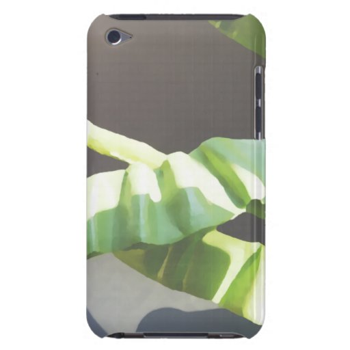 Hojas. Imagen de fondo del arte de Digitaces iPod Touch Case-Mate Carcasas