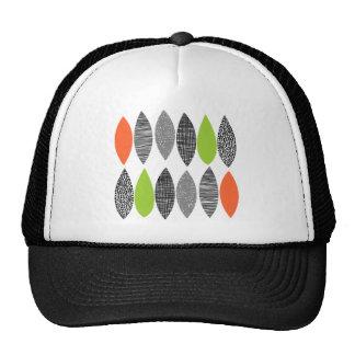Hojas texturizadas 02 gorras de camionero
