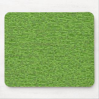 Hojas verdes alfombrillas de ratones