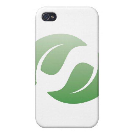 hojas verdes iPhone 4 cobertura
