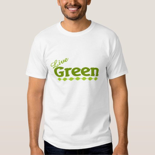 hojas vivas del verde playeras