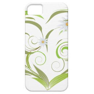 Hojas y flores iPhone 5 Case-Mate cárcasa