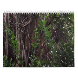 Hojas y plantas de los árboles… calendario