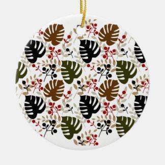 Hojas y ramitas de Monstera Ornaments Para Arbol De Navidad