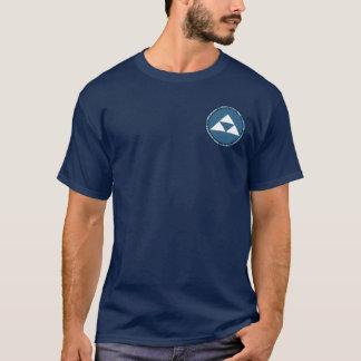 Hojo Clan Blue & White Seal Shirt