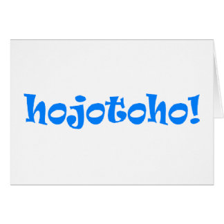 Hojotoho! Card