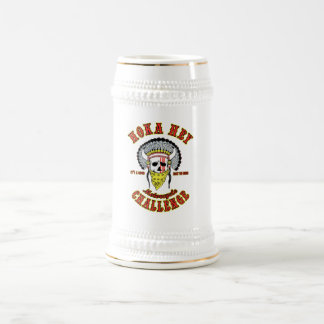Hoka Hey Challenge Beer Stein