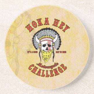 Hoka Hey Challenge Coasters
