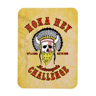 Hoka Hey Challenge Magnet