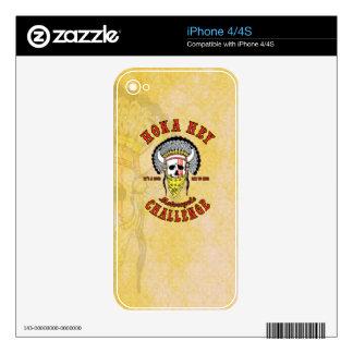Hoka Hey iPhone Skin iPhone 4 Skin