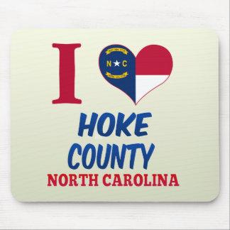 Hoke County, North Carolina Mouse Pads