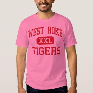 Hoke del oeste - tigres - centro - Raeford Camisas