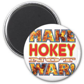 Hokey Make X 2 Inch Round Magnet