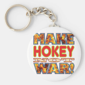 Hokey Make X Basic Round Button Keychain