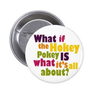 Hokey Pokey 2 Inch Round Button