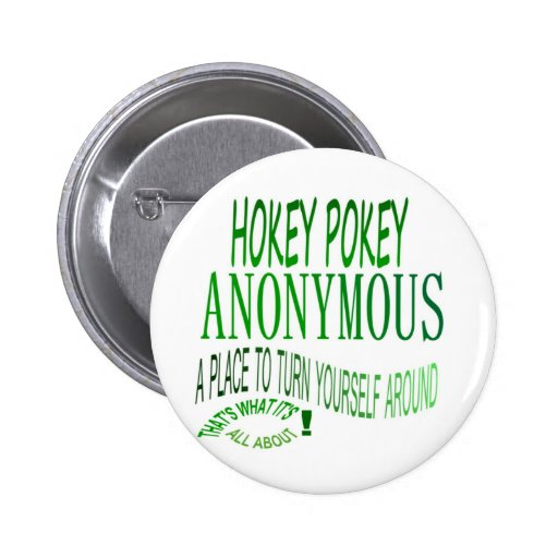 Hokey Pokey Anonymous Buttons