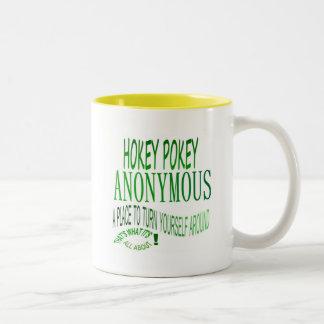 Hokey Pokey Anonymous Coffee Mugs