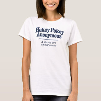 Hokey Pokey Anonymous Light Color T-Shirt