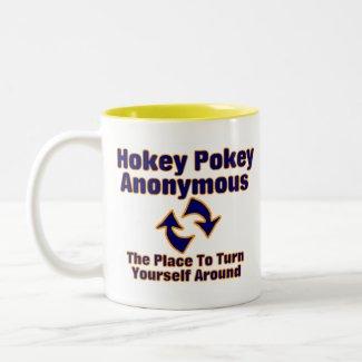 Hokey Pokey Anonymous mug