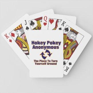 Hokey Pokey Anonymous Playing Cards