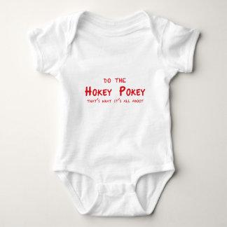 hokey-pokey baby bodysuit