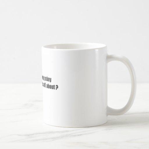 Hokey pokey classic white coffee mug