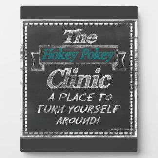Hokey Pokey Clinic Photo Plaque