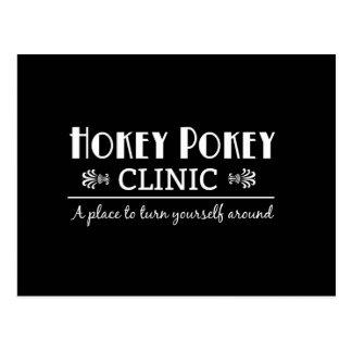 Hokey Pokey Clinic Postcard