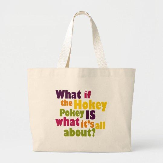 Hokey Pokey Large Tote Bag