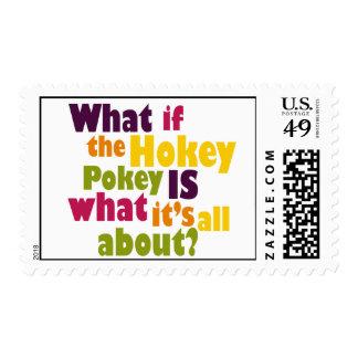 Hokey Pokey Postage